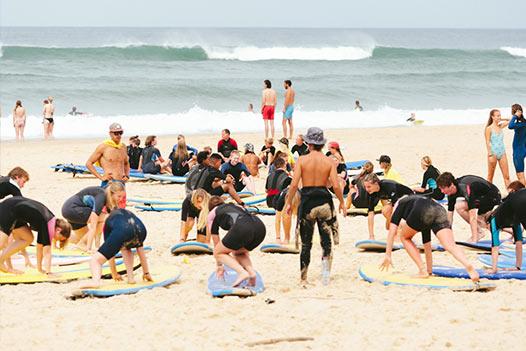 mimizan surfkamp